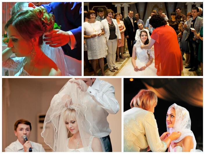 Обряд снятия фаты с невесты слова