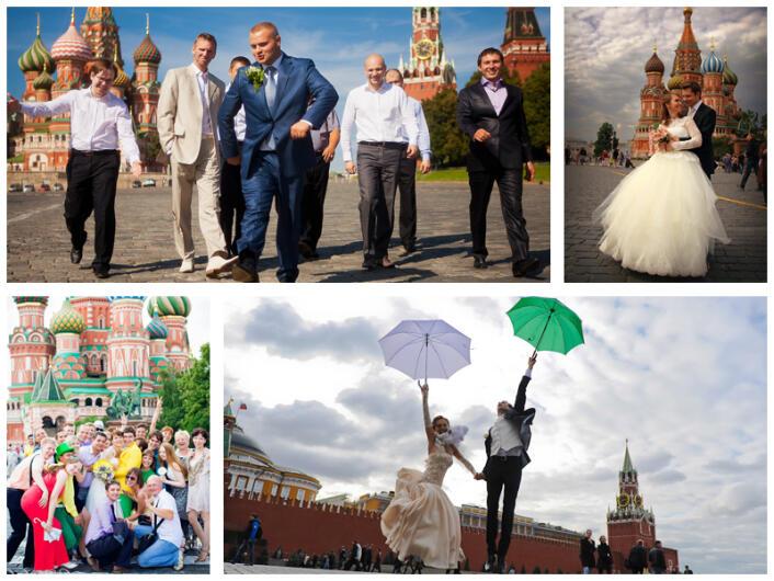 Открытые места для свадебной фотосессии в Москве(31 площадка)