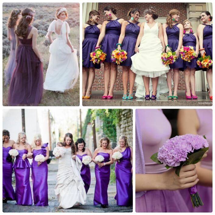 Сиреневый цвет фото свадьба