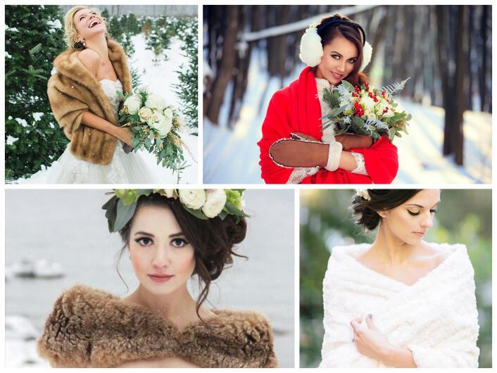 Свадьба зимой: как не замерзнуть в холодную погоду