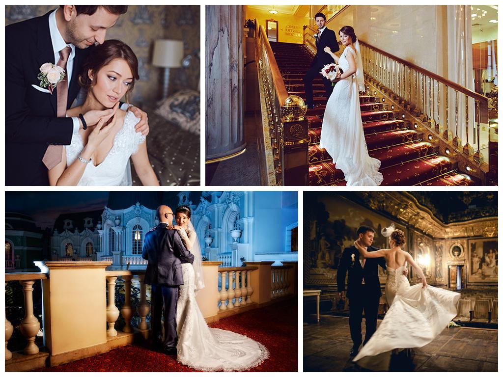 Свадебная фотосессия в отелях Москвы