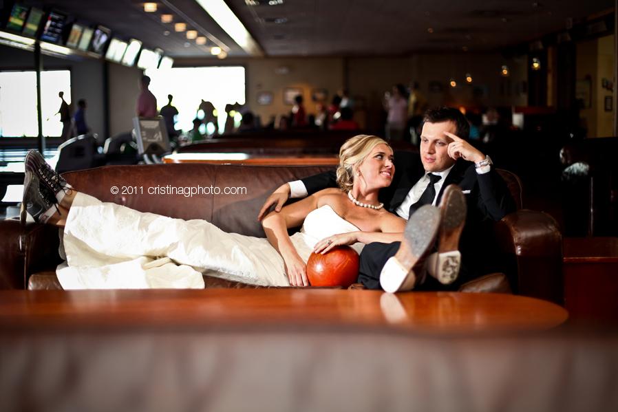 идея для свадьбы: боулинг