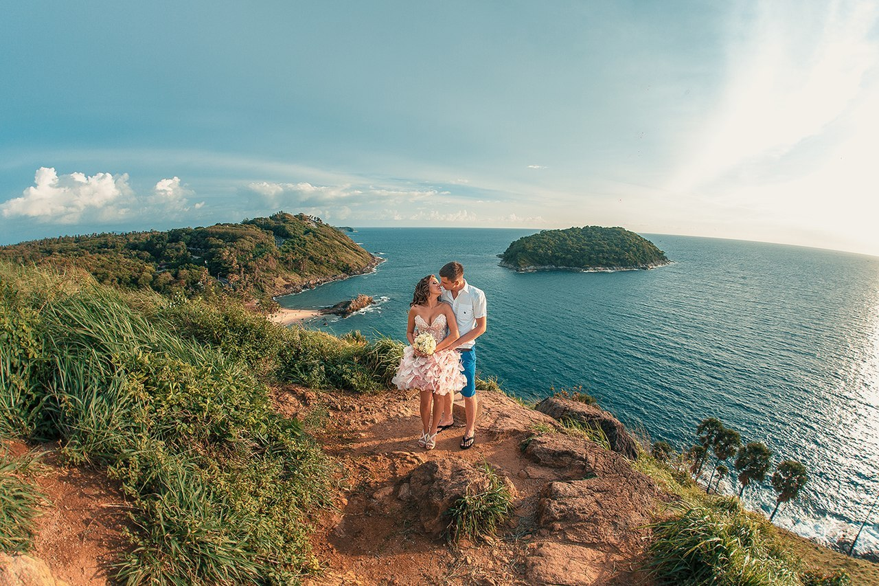 идеи для свадебной съемки: на пляже