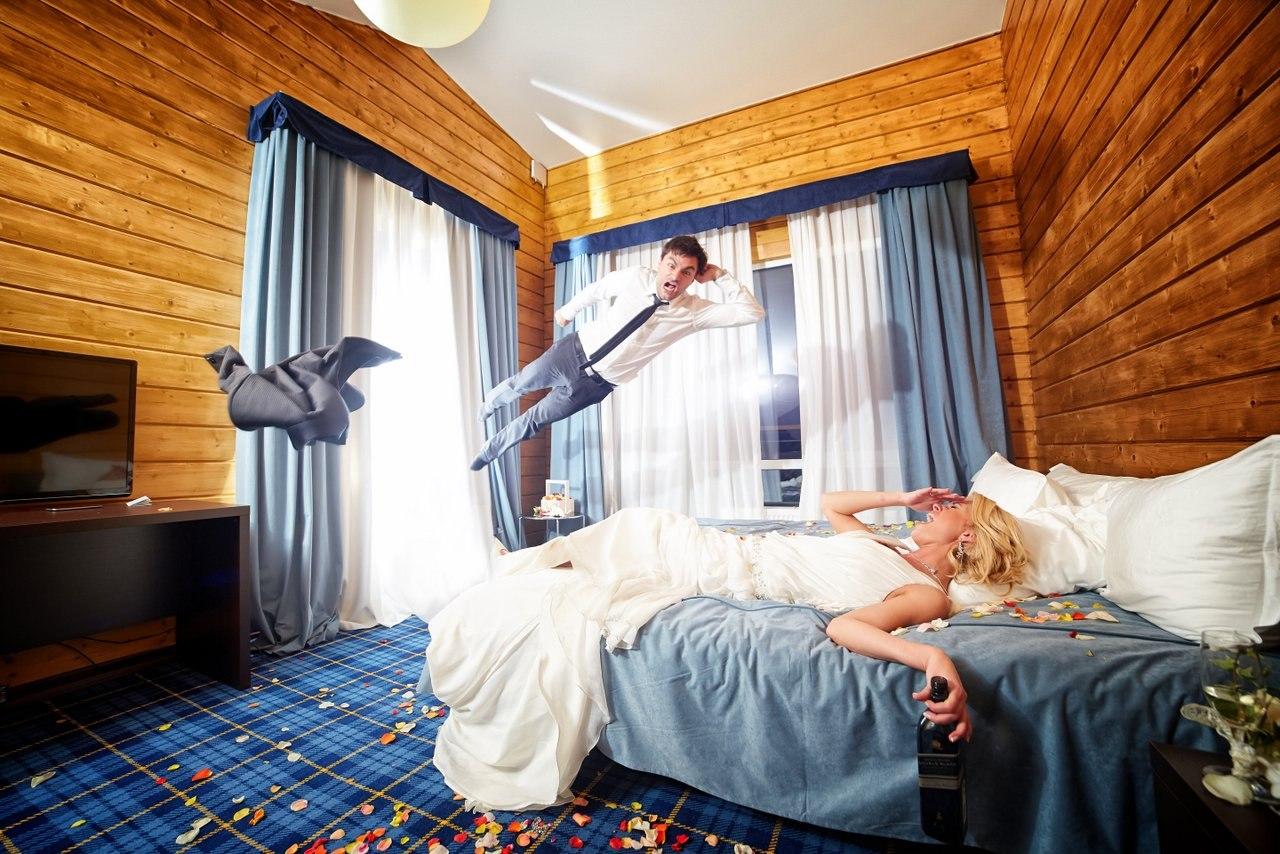 идеи для свадебной съемки: отель