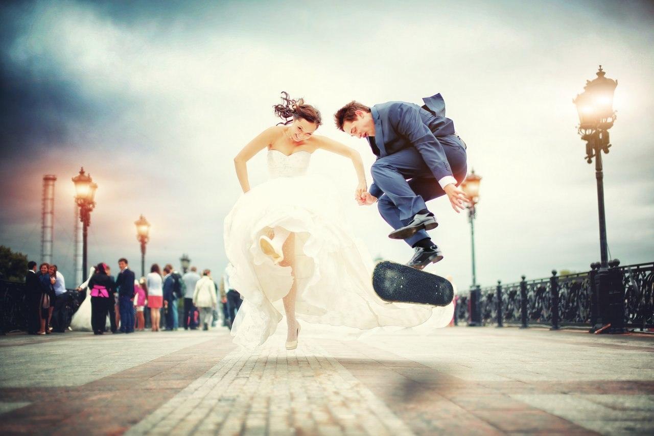 идеи для свадебной съемки: улица