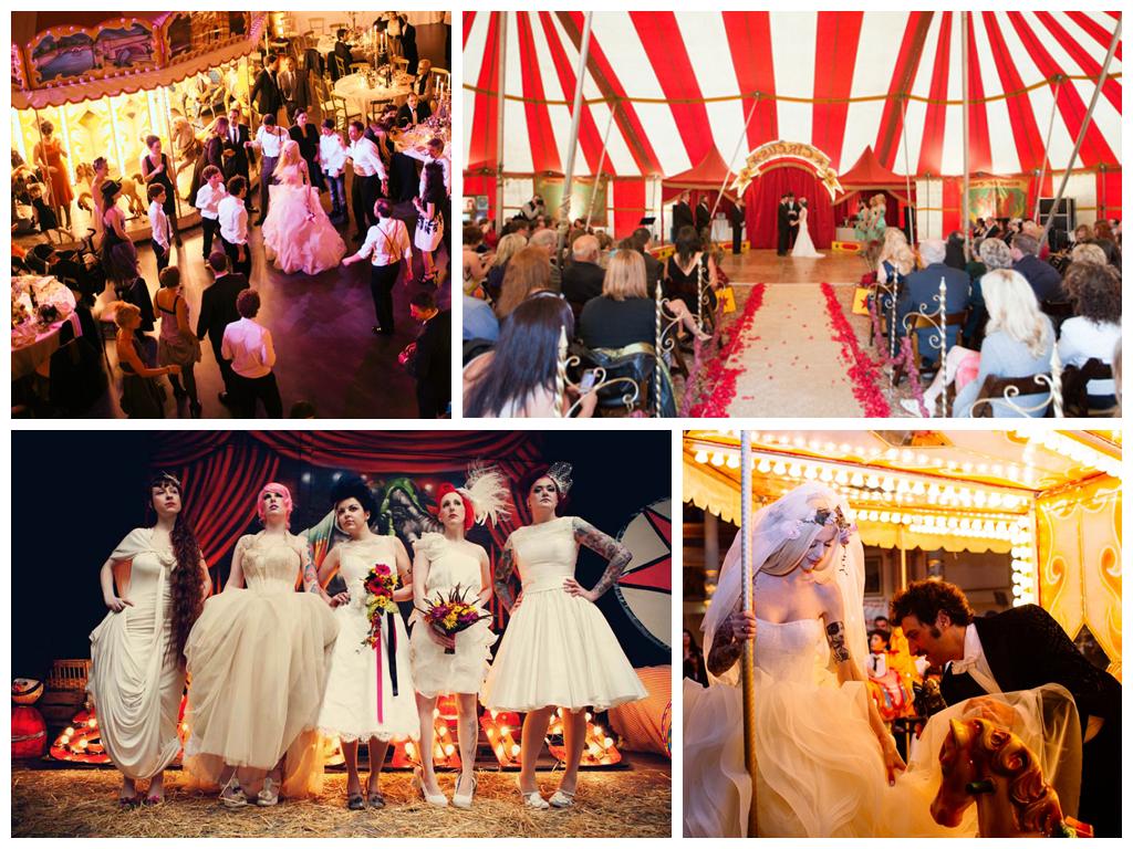 Свадебная фотосъемка в цирке Москва