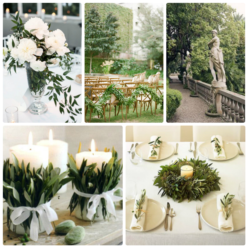 Свадьба в стиле греческом