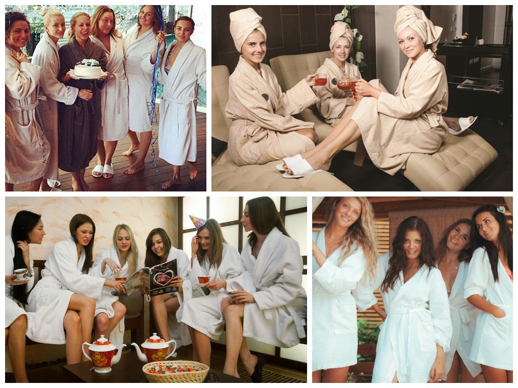 Интересные варианты для проведения девичника: пижамная вечеринка, мастер-класс, путешествие, квест, фотосессия, спа-девичник.