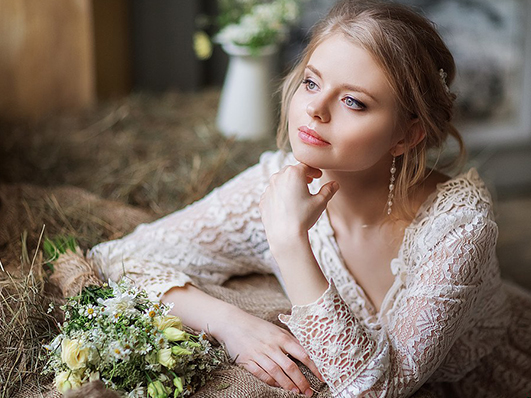 украшения свадебного платья