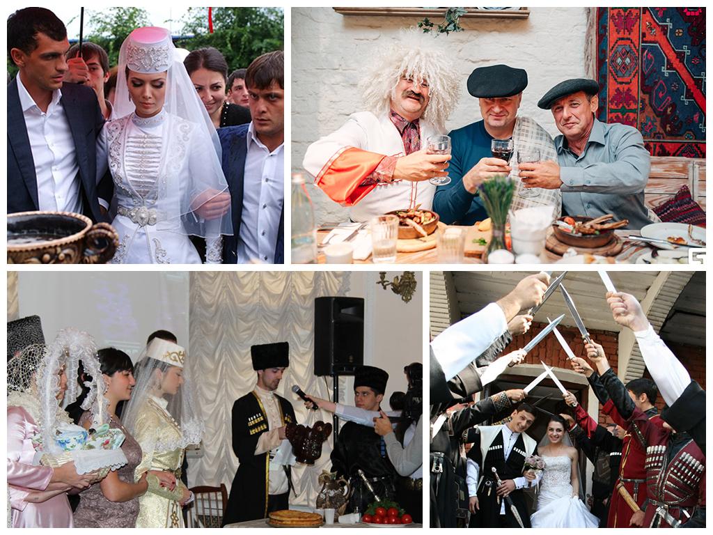 кавказская свадьба традиции кавказа