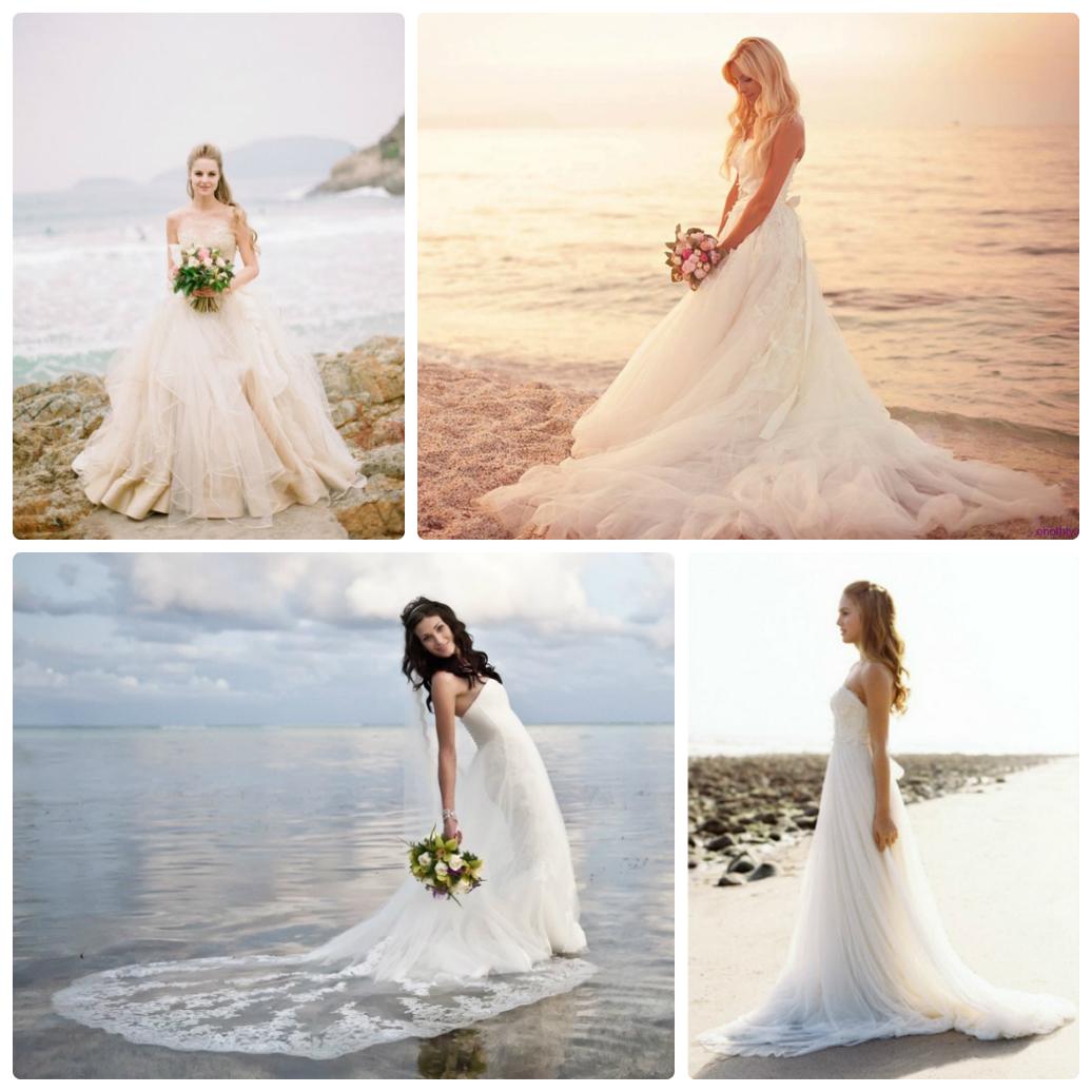 67d8ddf29874a2e Свадебные платья для пляжа: наряд невесты. свадьба на море