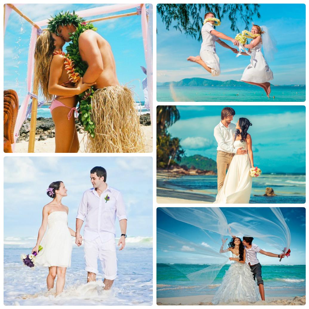07b3ca5b2880da2 Свадьба на пляже: образы молодоженов. свадьба на море