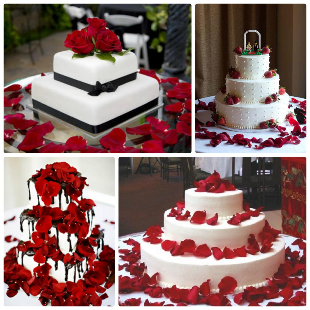 лепестки роз на свадьбу