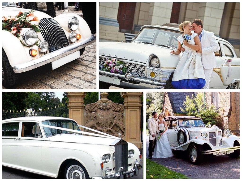 ретро свадьба
