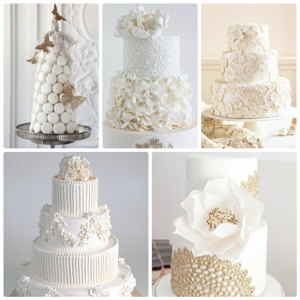 белая свадьба, торт