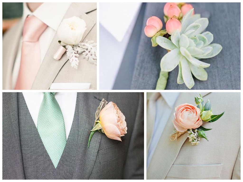свадьба в персиковом цвете