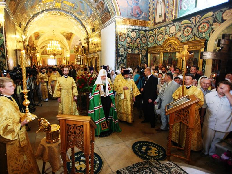 Церковь Рождества Иоанна Предтечи на Пресне