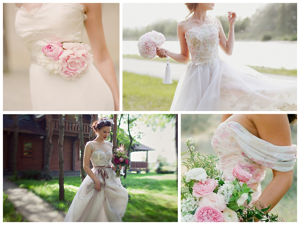 свадебные пионы
