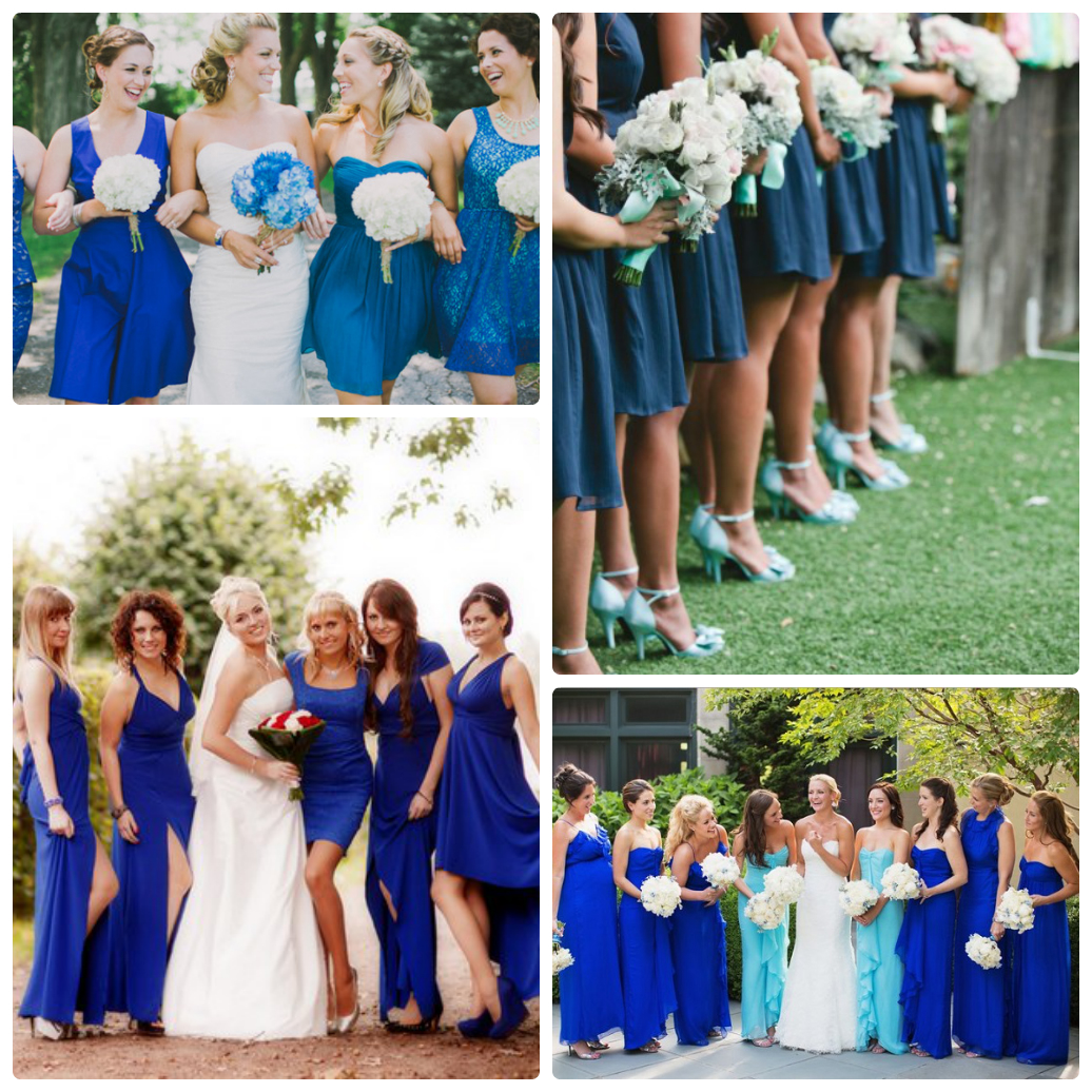 Свадьба в синем цвете жених и невеста фото