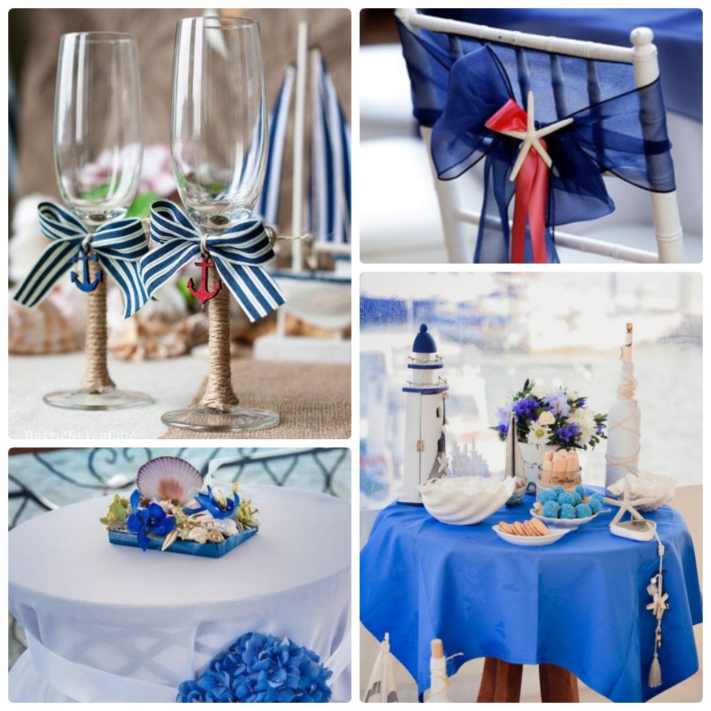 Свадьба в морской теме фото