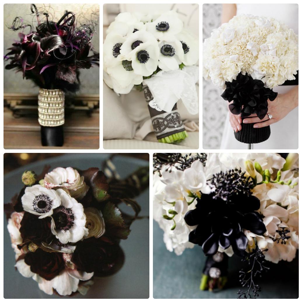 свадьба в черном