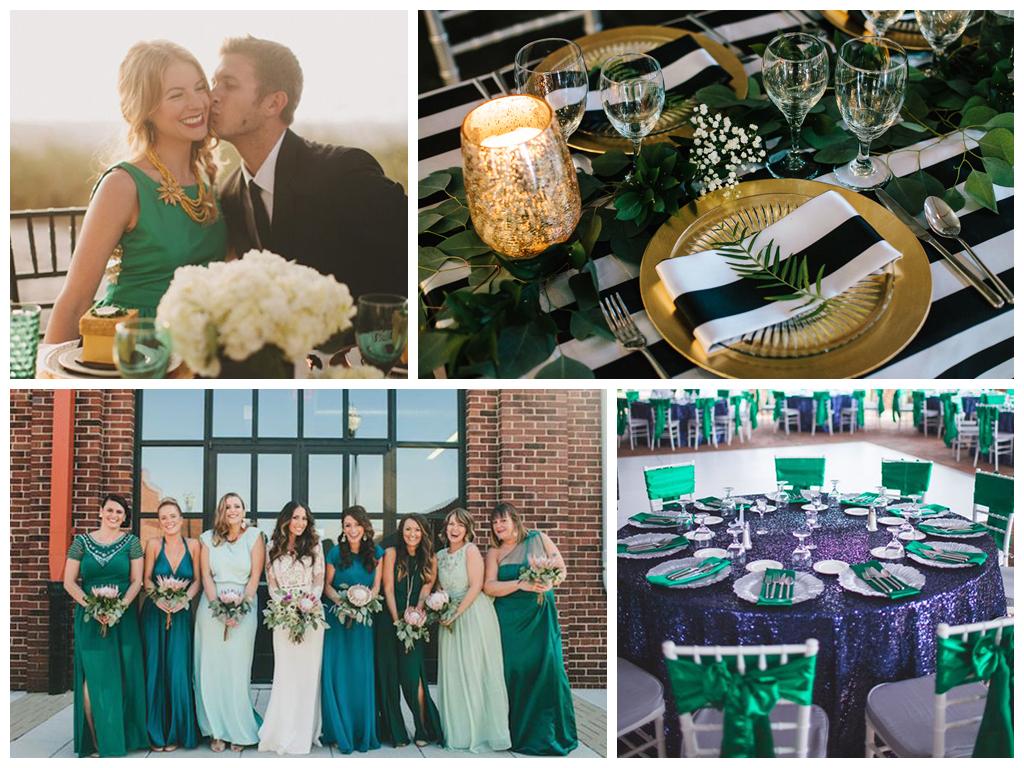 изумрудная свадьба