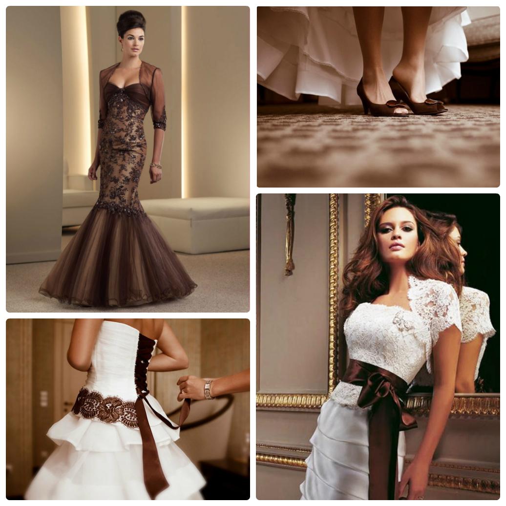 коричневая свадьба
