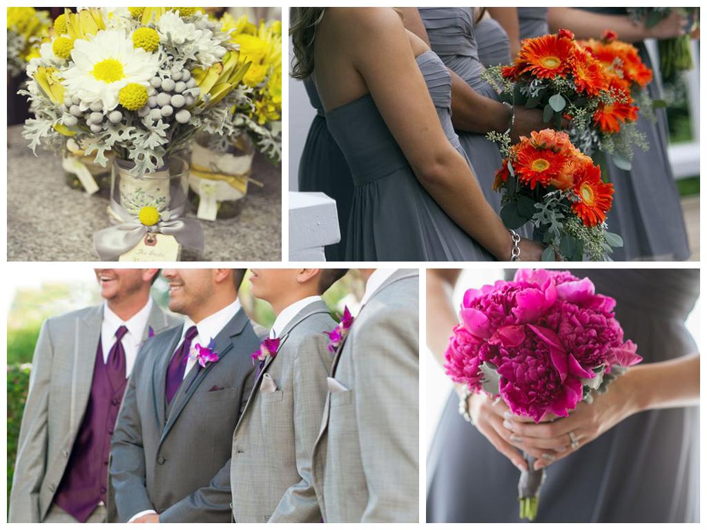 свадьба сером