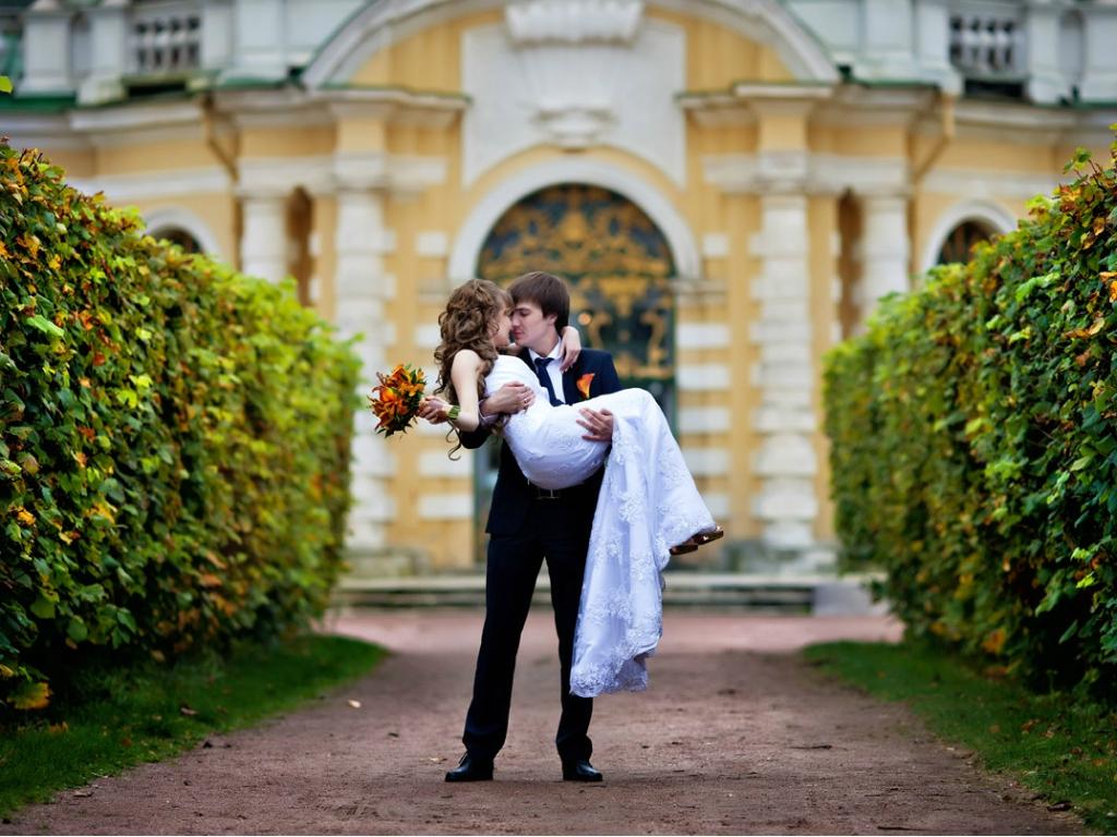 Свадьба в усадьбе
