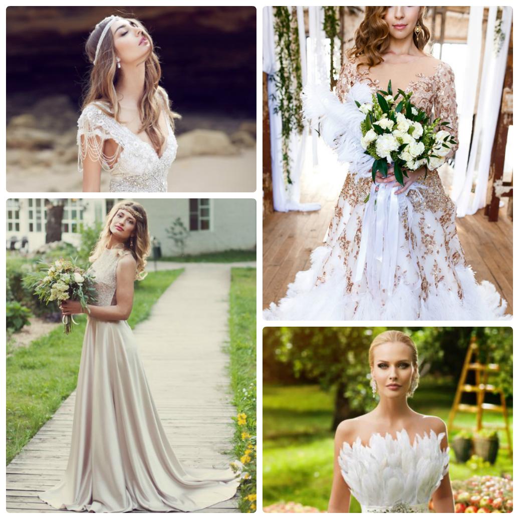 свадебные тенденции 2017