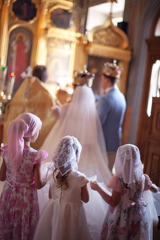 венчание дети
