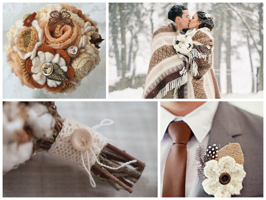 вязаная свадьба фото
