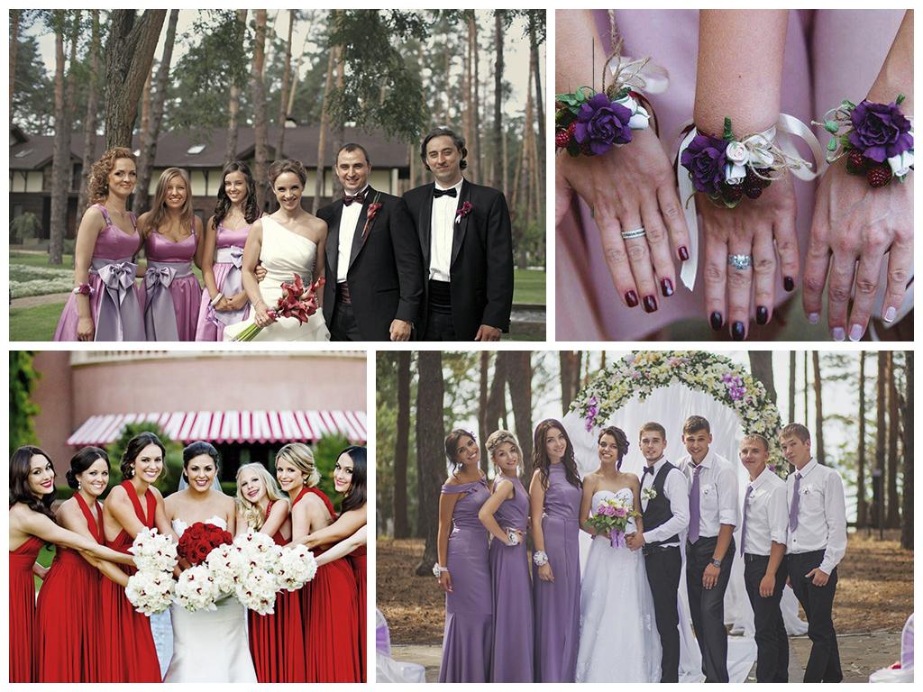 Свадьба в ягодном стиле