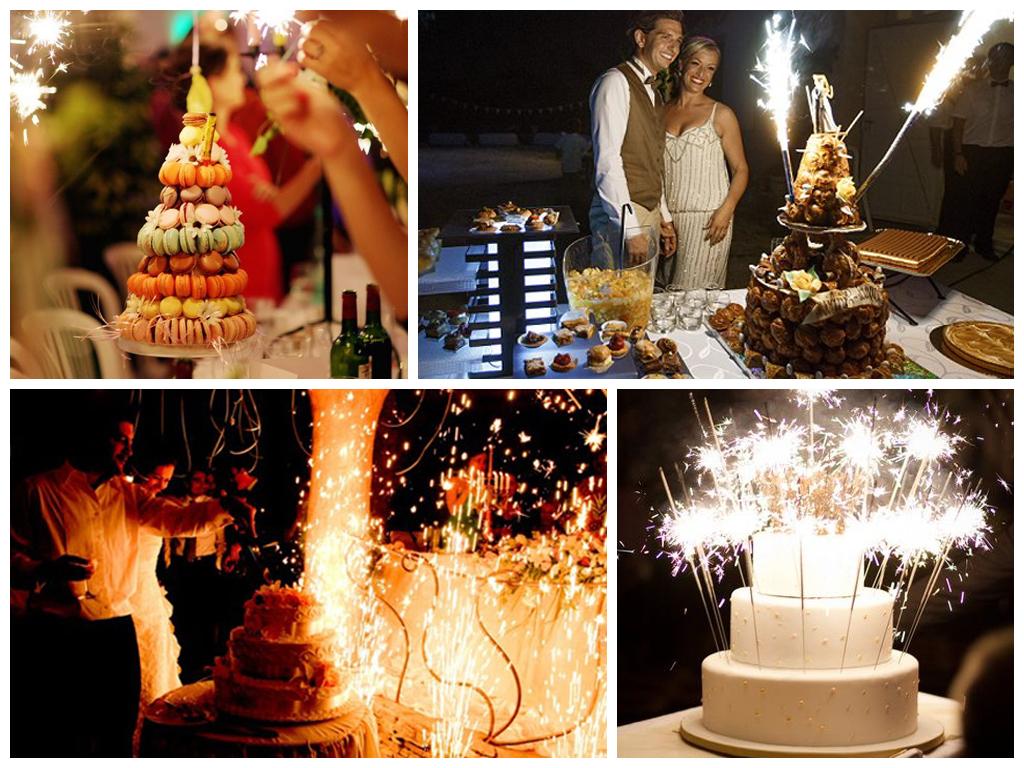 Идеи для завершения свадебного банкета