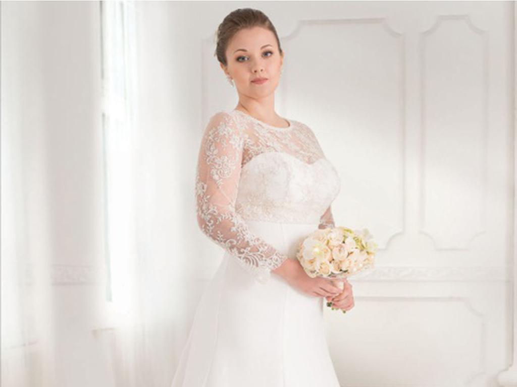Свадебные платья для полных невест и цена